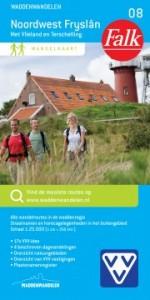 Wandelknooppunten wandelkaart Noordoost Friesland