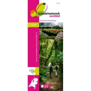 Wandelkaart Vechtdal gemeente Hardenberg