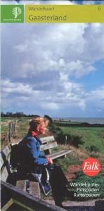 Wandelkaart Gaasterland Staatsbosbeheer 1