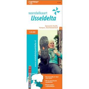 Wandelkaart IJsseldelta