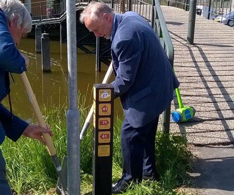 Wandelnetwerk Zuid-Holland, 1e paal Hof van Delfland